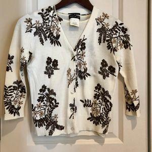 Vintage 1990s Esprit floral sweater set XS/S